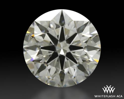 0.912 ct F VS2 A CUT ABOVE® Hearts and Arrows Super Ideal Round Cut Loose Diamond
