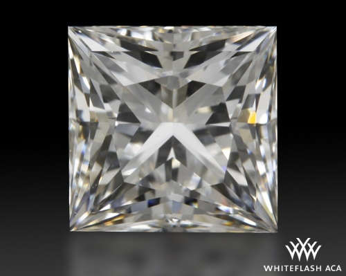 1.023 ct I VVS1 A CUT ABOVE® Princess Super Ideal Cut Diamond