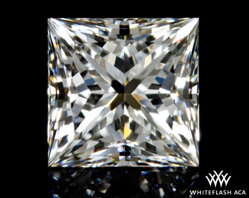 0.76 ct H VS1 A CUT ABOVE® Princess Super Ideal Cut Diamond