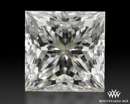 0.742 ct F VS1 A CUT ABOVE® Princess Super Ideal Cut Diamond