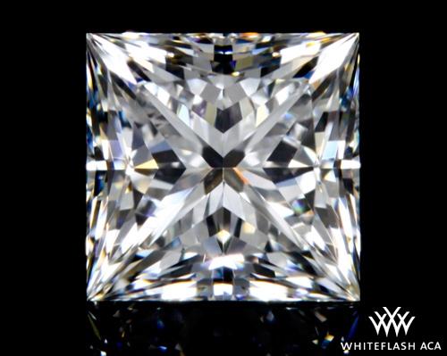 0.715 ct F VS1 A CUT ABOVE® Princess Super Ideal Cut Diamond