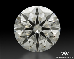 0.613 ct G VS1 A CUT ABOVE® Hearts and Arrows Super Ideal Round Cut Loose Diamond