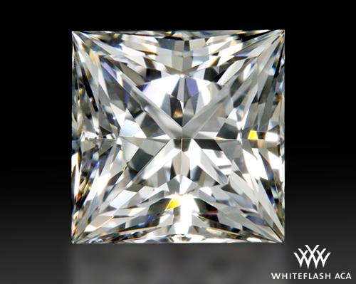 0.957 ct F SI1 A CUT ABOVE® Princess Super Ideal Cut Diamond