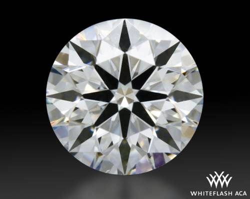 0.304 ct E VS1 A CUT ABOVE® Hearts and Arrows Super Ideal Round Cut Loose Diamond