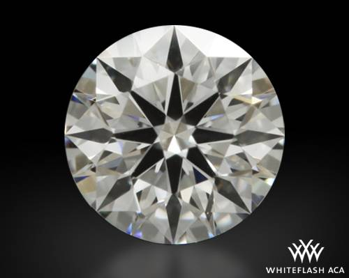 0.312 ct E VS1 A CUT ABOVE® Hearts and Arrows Super Ideal Round Cut Loose Diamond