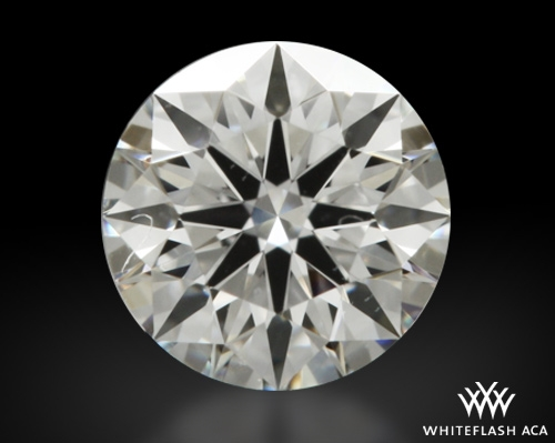 0.31 ct E VS2 A CUT ABOVE® Hearts and Arrows Super Ideal Round Cut Loose Diamond