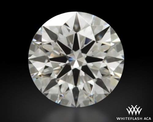 0.41 ct E VS1 A CUT ABOVE® Hearts and Arrows Super Ideal Round Cut Loose Diamond