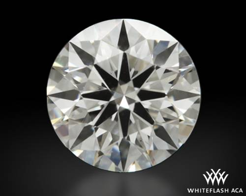 0.508 ct F VS2 A CUT ABOVE® Hearts and Arrows Super Ideal Round Cut Loose Diamond