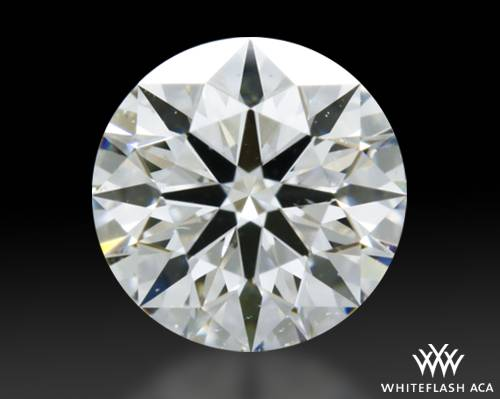 0.504 ct F SI1 A CUT ABOVE® Hearts and Arrows Super Ideal Round Cut Loose Diamond
