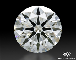 0.502 ct G VS1 A CUT ABOVE® Hearts and Arrows Super Ideal Round Cut Loose Diamond