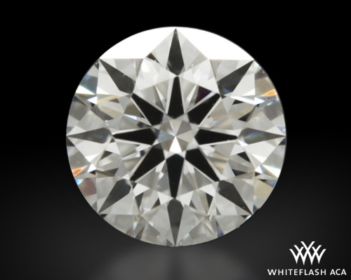 0.51 ct E VS1 A CUT ABOVE® Hearts and Arrows Super Ideal Round Cut Loose Diamond