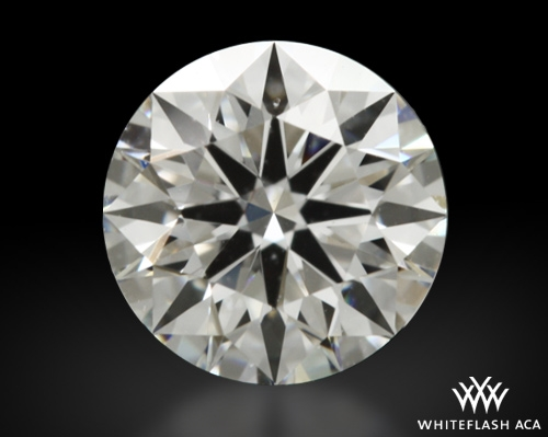 0.511 ct F VS1 A CUT ABOVE® Hearts and Arrows Super Ideal Round Cut Loose Diamond