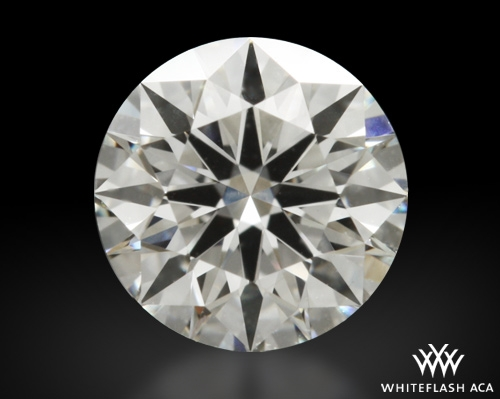 0.528 ct G VS1 A CUT ABOVE® Hearts and Arrows Super Ideal Round Cut Loose Diamond
