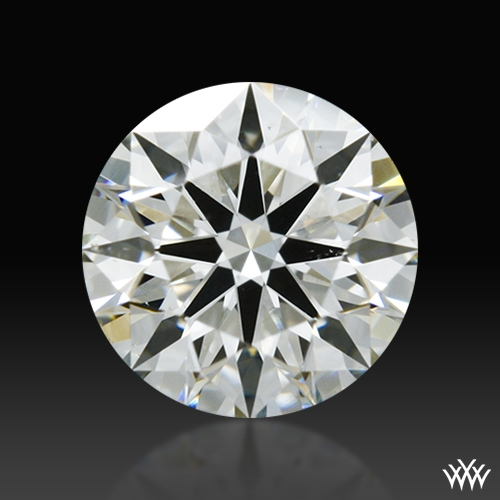 0.567 ct J SI1 A CUT ABOVE® Hearts and Arrows Super Ideal Round Cut Loose Diamond