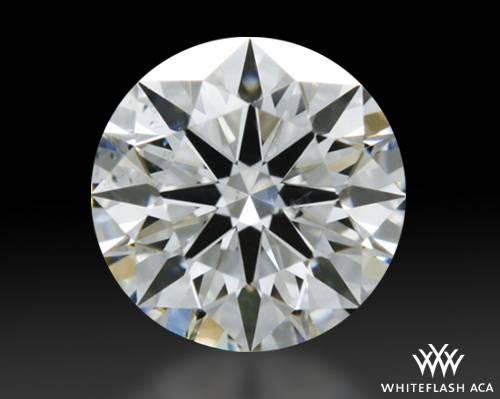 0.57 ct E SI1 A CUT ABOVE® Hearts and Arrows Super Ideal Round Cut Loose Diamond