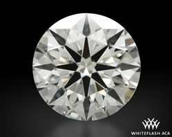 0.61 ct E VS2 A CUT ABOVE® Hearts and Arrows Super Ideal Round Cut Loose Diamond