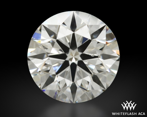 0.601 ct F SI1 A CUT ABOVE® Hearts and Arrows Super Ideal Round Cut Loose Diamond