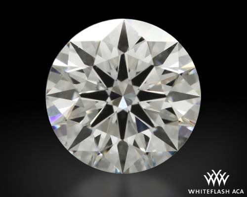 0.613 ct G VS2 A CUT ABOVE® Hearts and Arrows Super Ideal Round Cut Loose Diamond