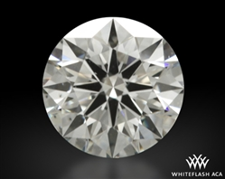 0.622 ct H SI1 A CUT ABOVE® Hearts and Arrows Super Ideal Round Cut Loose Diamond