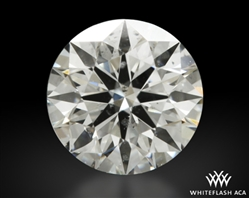 0.757 ct G SI1 A CUT ABOVE® Hearts and Arrows Super Ideal Round Cut Loose Diamond