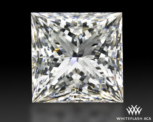 1.08 ct G VS2 A CUT ABOVE® Princess Super Ideal Cut Diamond