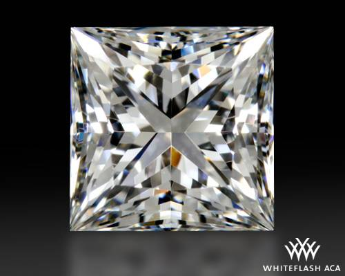 1.09 ct G VVS1 A CUT ABOVE® Princess Super Ideal Cut Diamond