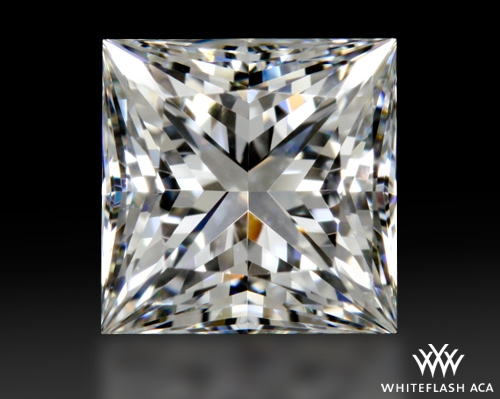 1.09 ct G VVS1 A CUT ABOVE® Princess Super Ideal Cut Diamond