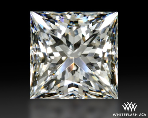 1.268 ct E VS1 A CUT ABOVE® Princess Super Ideal Cut Diamond