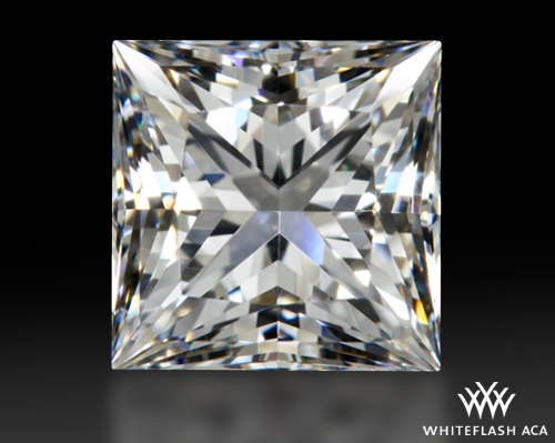 0.90 ct E VS1 A CUT ABOVE® Princess Super Ideal Cut Diamond