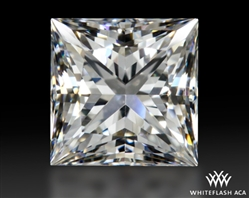 0.90 ct E VS1 A CUT ABOVE® Princess Super Ideal Cut Diamond