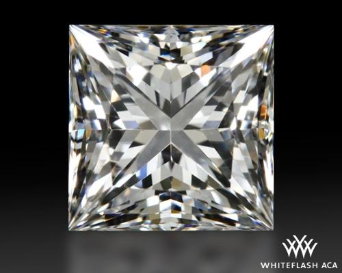 1.218 ct E VS2 A CUT ABOVE® Princess Super Ideal Cut Diamond