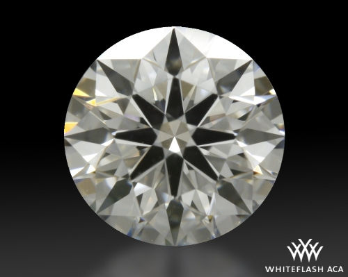 0.407 ct E SI1 A CUT ABOVE® Hearts and Arrows Super Ideal Round Cut Loose Diamond