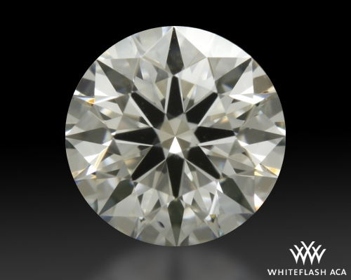 0.412 ct I VS1 A CUT ABOVE® Hearts and Arrows Super Ideal Round Cut Loose Diamond