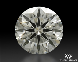 0.411 ct H SI1 A CUT ABOVE® Hearts and Arrows Super Ideal Round Cut Loose Diamond
