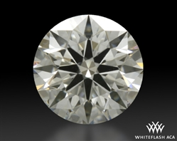 0.415 ct I VS1 A CUT ABOVE® Hearts and Arrows Super Ideal Round Cut Loose Diamond