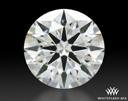 0.413 ct F VS2 A CUT ABOVE® Hearts and Arrows Super Ideal Round Cut Loose Diamond