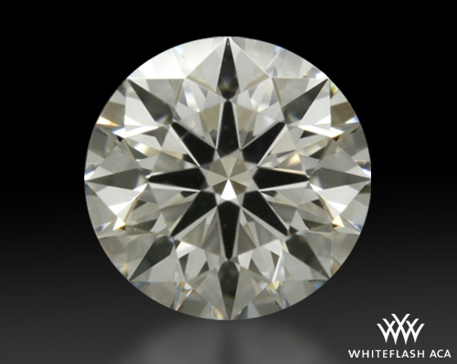 0.505 ct I SI1 A CUT ABOVE® Hearts and Arrows Super Ideal Round Cut Loose Diamond