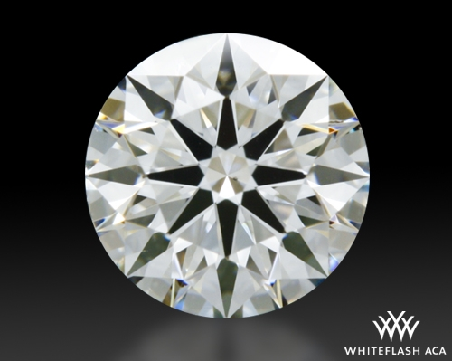 0.511 ct G VS2 A CUT ABOVE® Hearts and Arrows Super Ideal Round Cut Loose Diamond