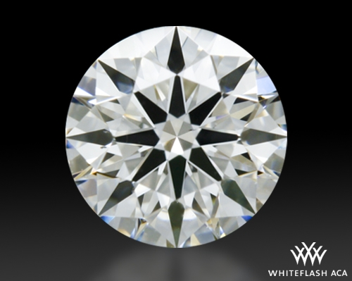0.513 ct H VS2 A CUT ABOVE® Hearts and Arrows Super Ideal Round Cut Loose Diamond