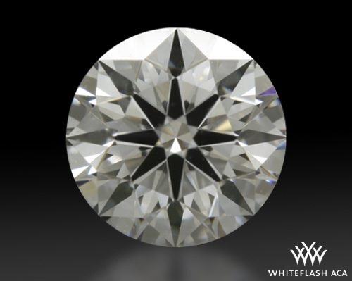 0.51 ct E VS2 A CUT ABOVE® Hearts and Arrows Super Ideal Round Cut Loose Diamond