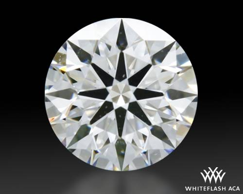 0.512 ct D VS2 A CUT ABOVE® Hearts and Arrows Super Ideal Round Cut Loose Diamond
