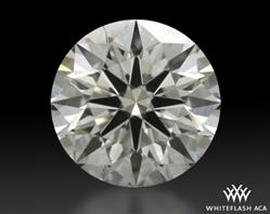 0.563 ct E VS1 A CUT ABOVE® Hearts and Arrows Super Ideal Round Cut Loose Diamond