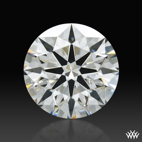 0.567 ct I SI1 A CUT ABOVE® Hearts and Arrows Super Ideal Round Cut Loose Diamond