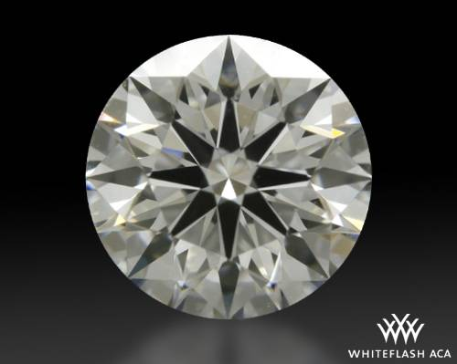 0.606 ct F VS2 A CUT ABOVE® Hearts and Arrows Super Ideal Round Cut Loose Diamond