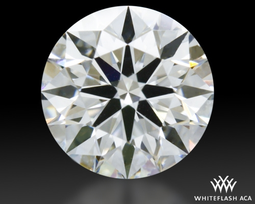 0.614 ct E VS1 A CUT ABOVE® Hearts and Arrows Super Ideal Round Cut Loose Diamond