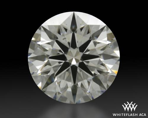 0.61 ct F SI1 A CUT ABOVE® Hearts and Arrows Super Ideal Round Cut Loose Diamond
