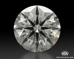 0.624 ct E VS1 A CUT ABOVE® Hearts and Arrows Super Ideal Round Cut Loose Diamond