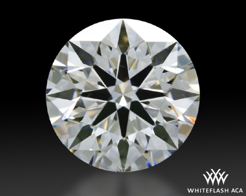 0.807 ct E VS1 A CUT ABOVE® Hearts and Arrows Super Ideal Round Cut Loose Diamond