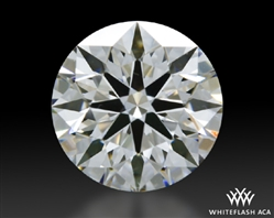 0.807 ct E VS1 A CUT ABOVE® Hearts and Arrows Super Ideal Round Cut Loose Diamond