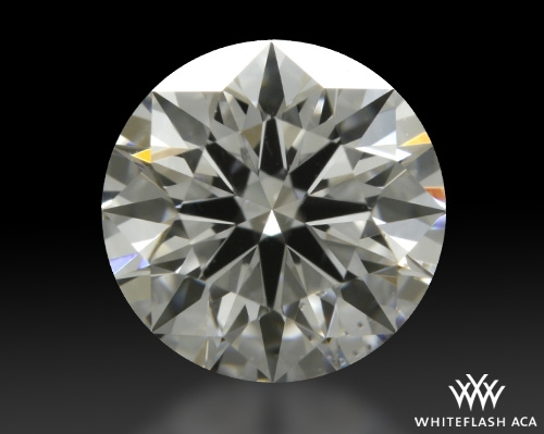 0.838 ct D VS2 A CUT ABOVE® Hearts and Arrows Super Ideal Round Cut Loose Diamond